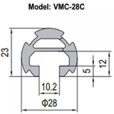 NHÔM ỐNG Ø28 VMC-28C